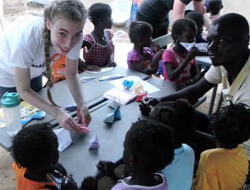 paula in senegal, sponsoring