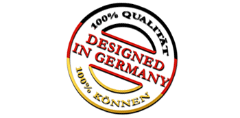 designed in germany badge